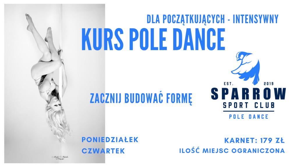 Pole Dance Lublin, kurs pole dance dla początkujacych, sparrow sport club lublin